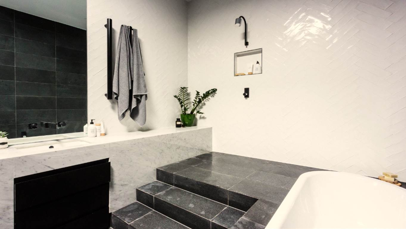 Get the look: The Block Glasshouse main bathroom reveals that wowed ...