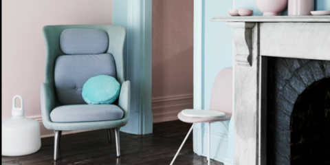 According to Dulux, the future is pink and green!