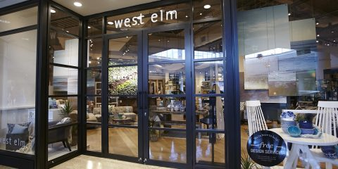 First pix: New West Elm and Pottery Barn in Chatswood
