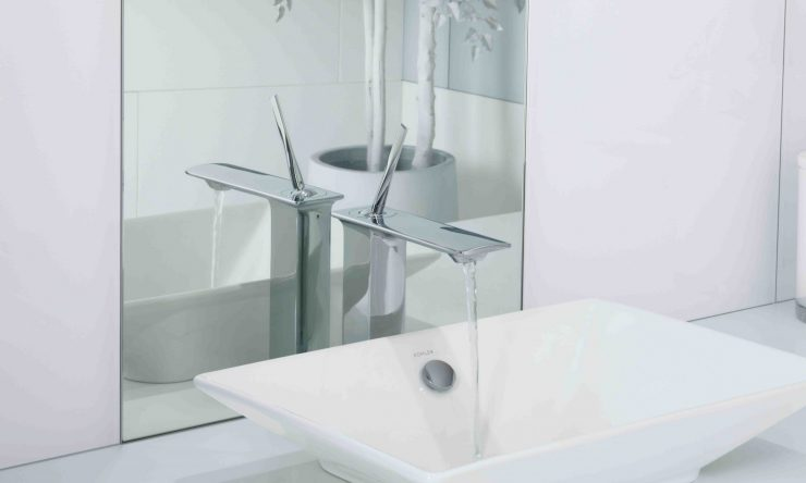 Kohler's new, bold and modern tapware