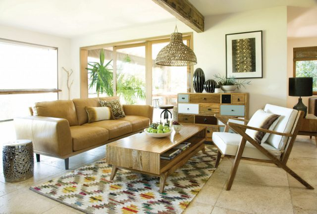 Ordinaire The Global Sofa, Porto Buffet, Sari Coffee Table And Sling Chair