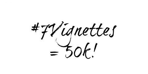 7 Vignettes tops 50,000 photos!