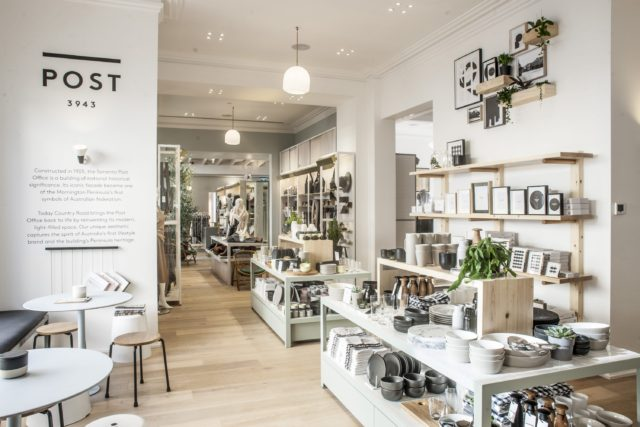 Superb Large, Metal Framed Windows Allow Natural Light To Fill The Store Where The Country  Road Woman And Man Collections Make A Statement Amidst Exposed Timber ...