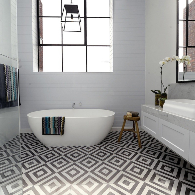 5 Phenomenal Bathroom Tile Combinations: 5 Tips To Save Money But Create An Expensive Look With