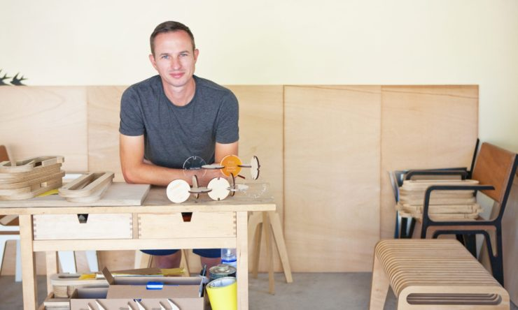 Carl Holder, creator of plywood furniture that's anything but generic