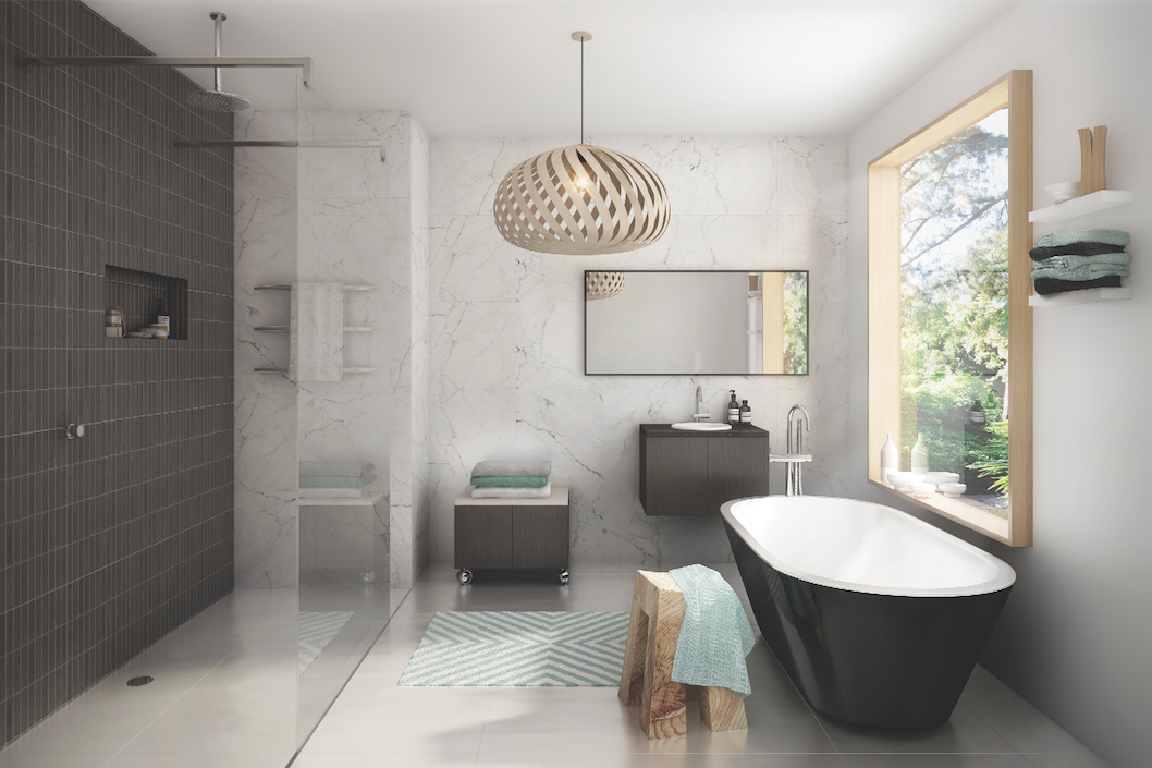 Get the hotel inspired bathroom look - The Interiors Addict