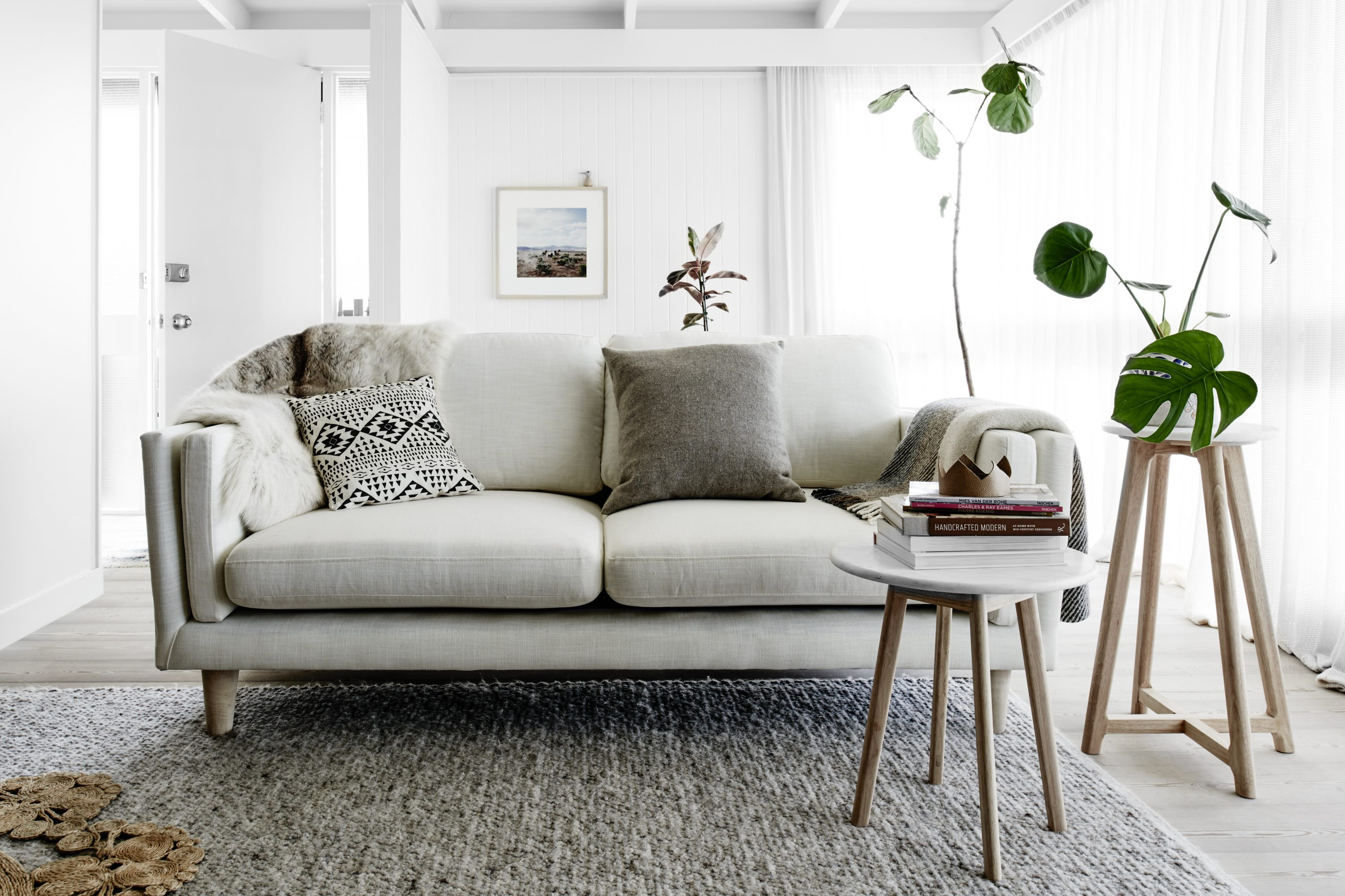 Excellent Scandi Inspired Timber And Marble Furniture Designed In Home Interior And Landscaping Eliaenasavecom