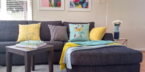 See how Jen styled her home with Freedom's spring/summer range