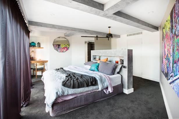 The Block Room Reveals Week Master Bedroom And Walk In Robe - The block bedroom designs