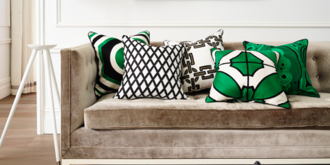 Win Greg Natale cushions plus his book The Tailored Interior