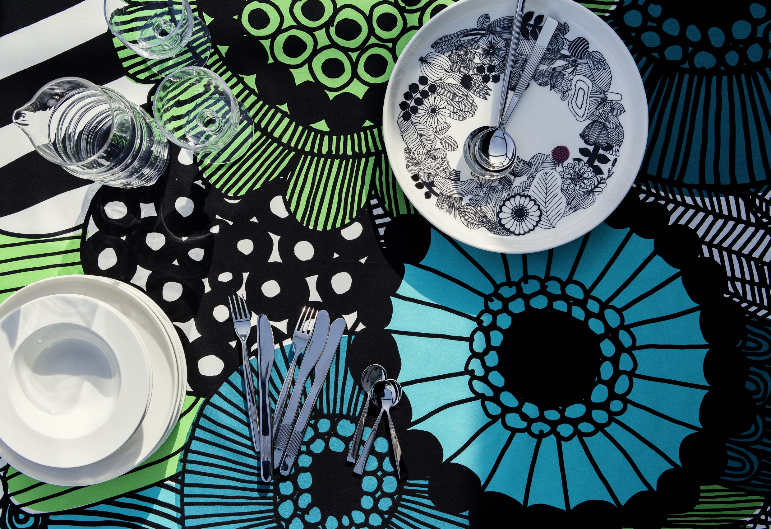 The history of decorating with Marimekko - The Interiors Addict