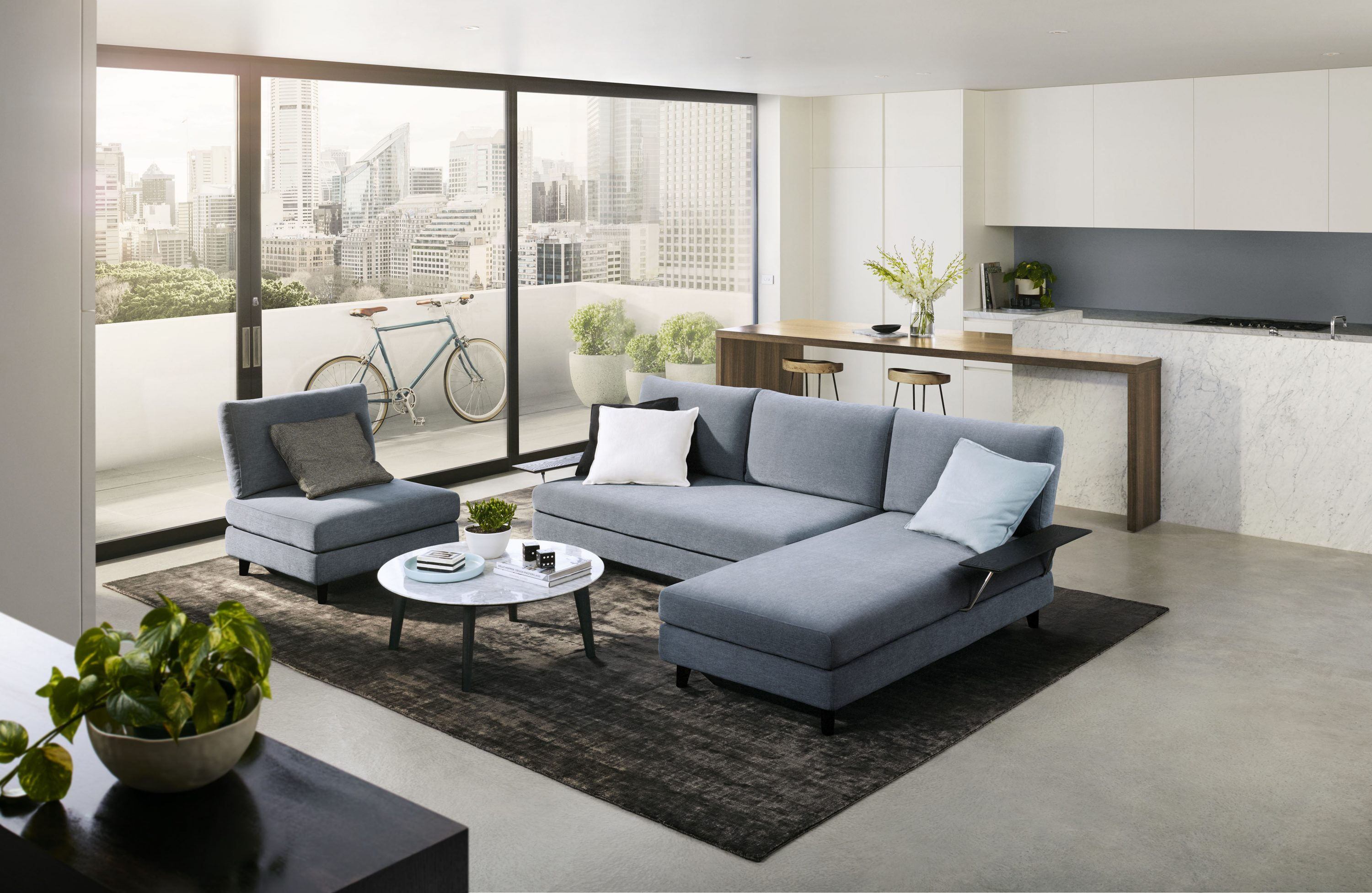 Apartment life gets easier with King Living\'s Metro range - The ...