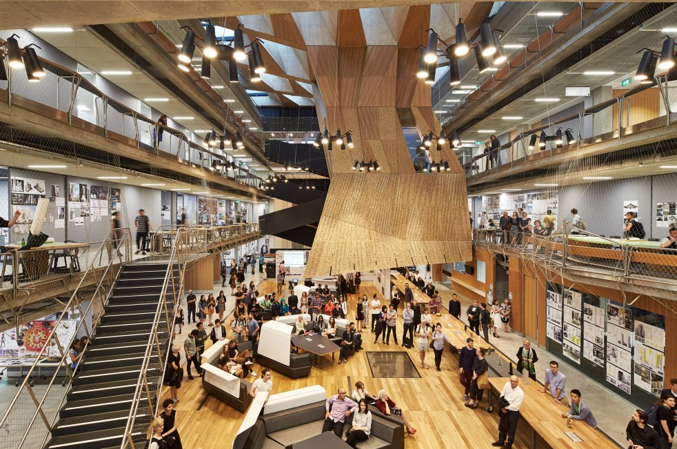 2015 interior design excellence awards winners revealed for Melbourne space design