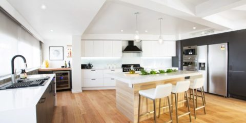 Interiors Addict TV: Tour Whitney & Andy's Block kitchen