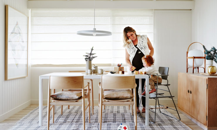 Meet the must-have, Scandi-style, designer high chair