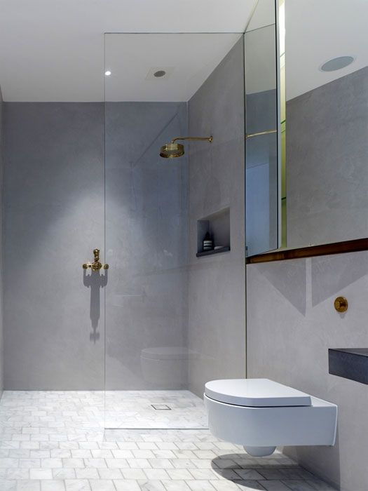 Incredible Tile Less Bathrooms Add Luxe Using An Ancient