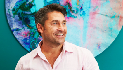 Jamie Durie and The Canvas Workshop bring art outside