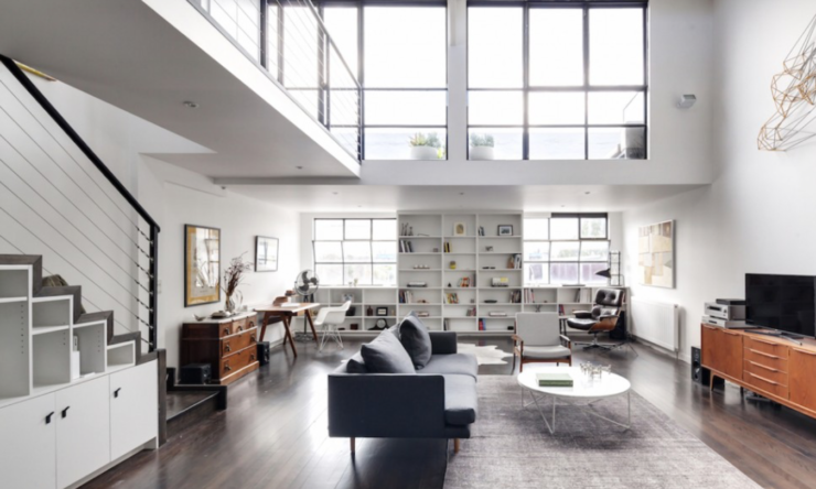 Melbourne warehouse gets chic, industrial makeover