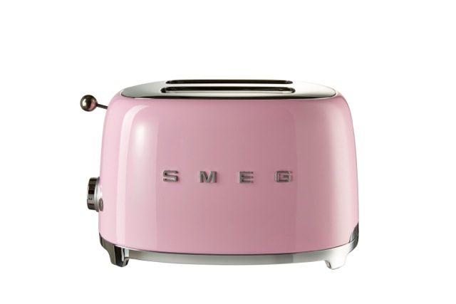 Smeg Toaster 2 Pink
