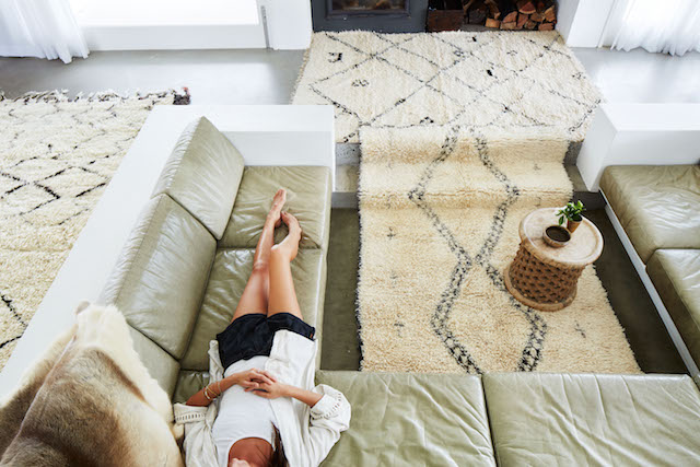 Tigmi Trading's Berber rugs are super stunning