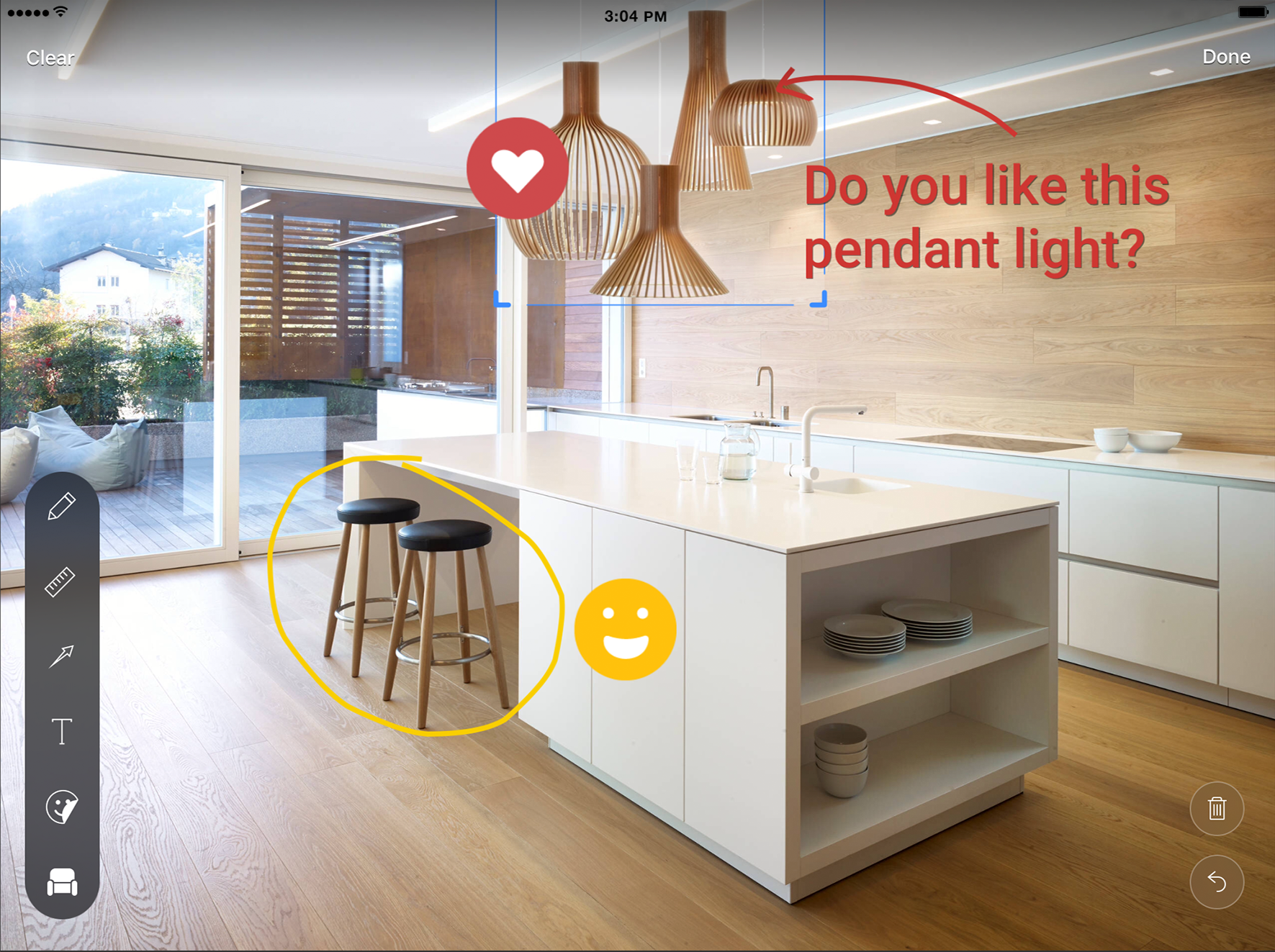 Bring Ideas To Life With The Houzz Appu0027s New Sketch Feature   The Interiors  Addict