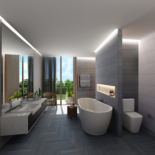 The hottest six bathroom trends of 2016 the interiors addict for 2016 small bathroom trends