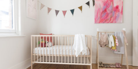 Currently coveting: This serene & stylish nursery