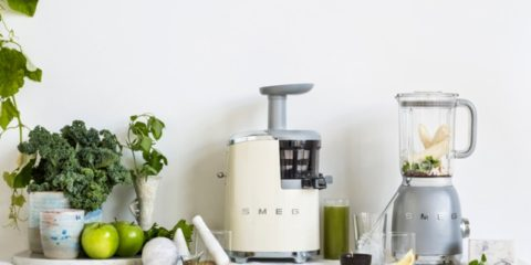 Smeg's new cold-press juicer looks super hot
