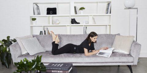 King Living takes a seat with fashion blogger Sara Donaldson