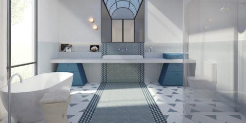 Blue crush: Jason Grant's dream bathroom