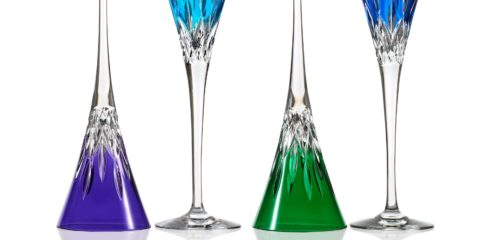 Add colourful character to your next glass of bubbly