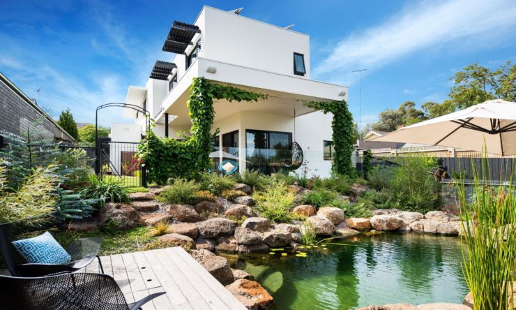 House tour: This sustainable home has its own billabong!