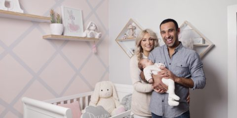 House Rules: Check out Adam and Lisa's new nursery…and baby!
