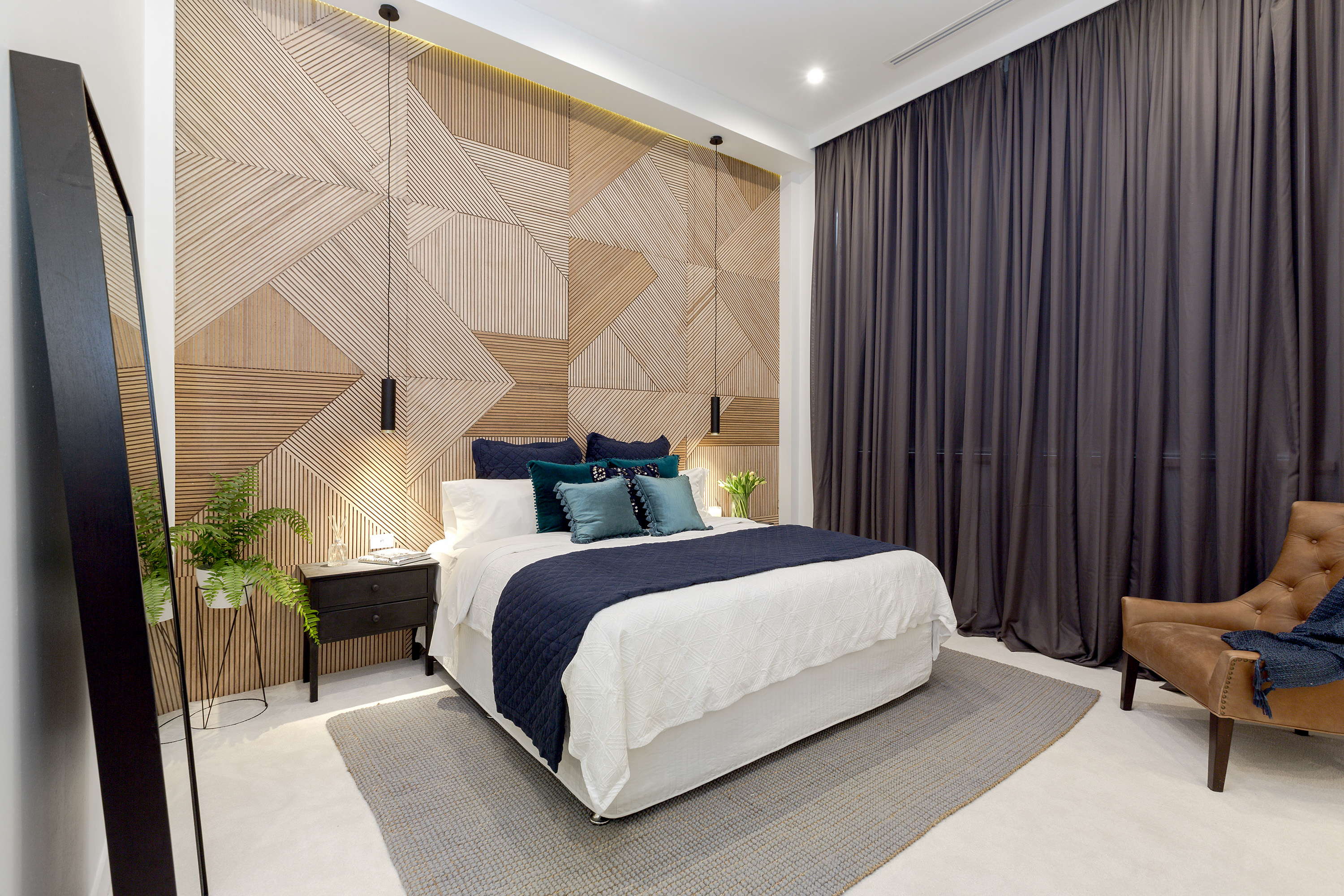 The block week 6 room reveals master bedrooms the for Bedroom looks for 2016