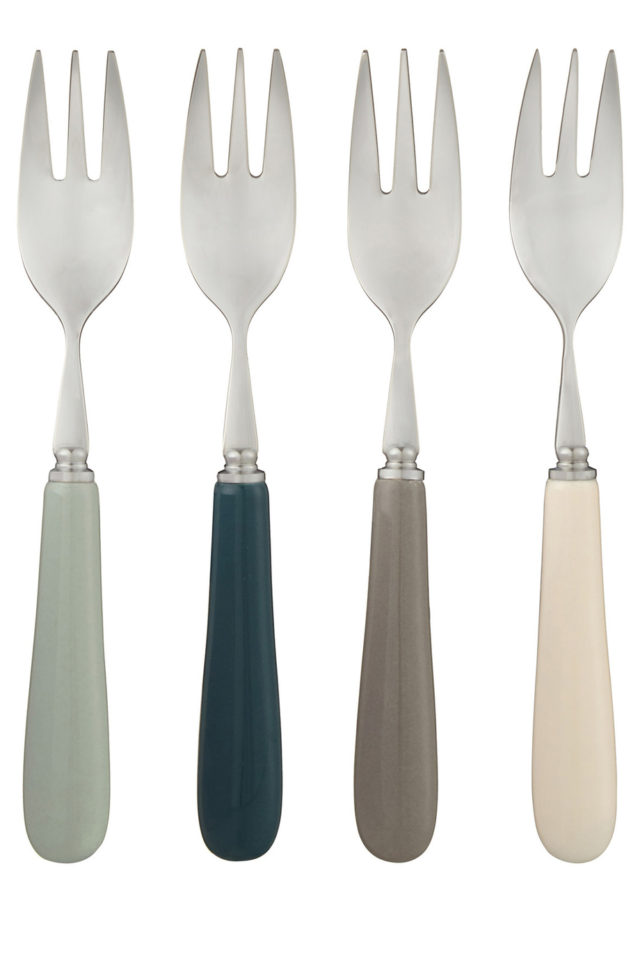 Weu0027re loving these Islay Pastry forks $29.95 (set of four) u2013 perfect for Christmas Day  sc 1 st  The Interiors Addict : john lewis christmas tableware - pezcame.com