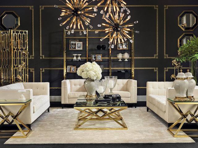 How To Master The Hollywood Regency Aesthetic The Interiors Addict Custom Regency Interior Design