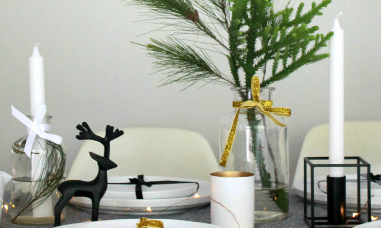 Reno Addict's Lauren Ellis shares her Christmas table setting