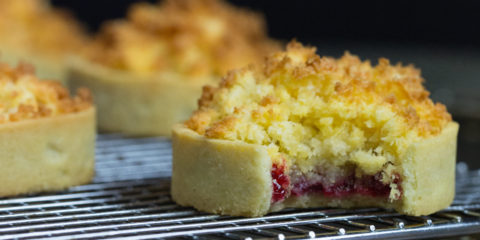 Foodie Friday: Raspberry coconut baked tart