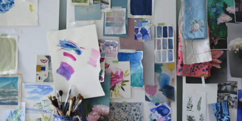 Tour time! Step inside Bluebellgray's gorgeous Scottish studio