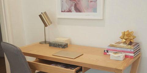 Jen's home office shopping spree at Supa Centa Moore Park