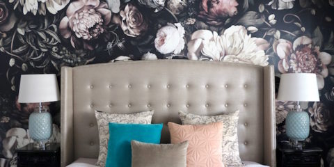 Style inspo: Take a peek at Amy's whimsical new wallpaper