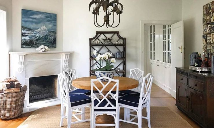 Real home: Traditional American design meets Chinoiserie