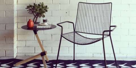 How to: Turn a vintage chair into a designer piece