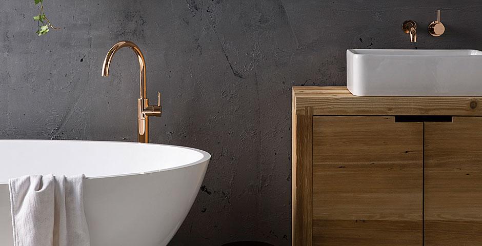 DIY tips for a decadent bathroom