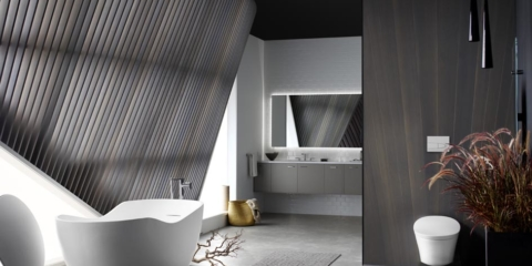 Add a touch of luxury to your loo with titanium