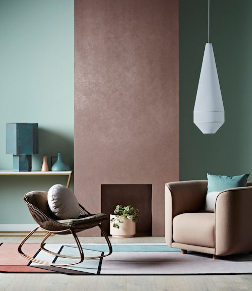 New Dulux Paint Effects Include Concrete, Steel And Copper