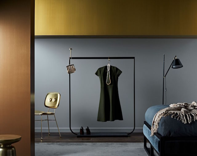 New Dulux paint effects include concrete steel and copper The