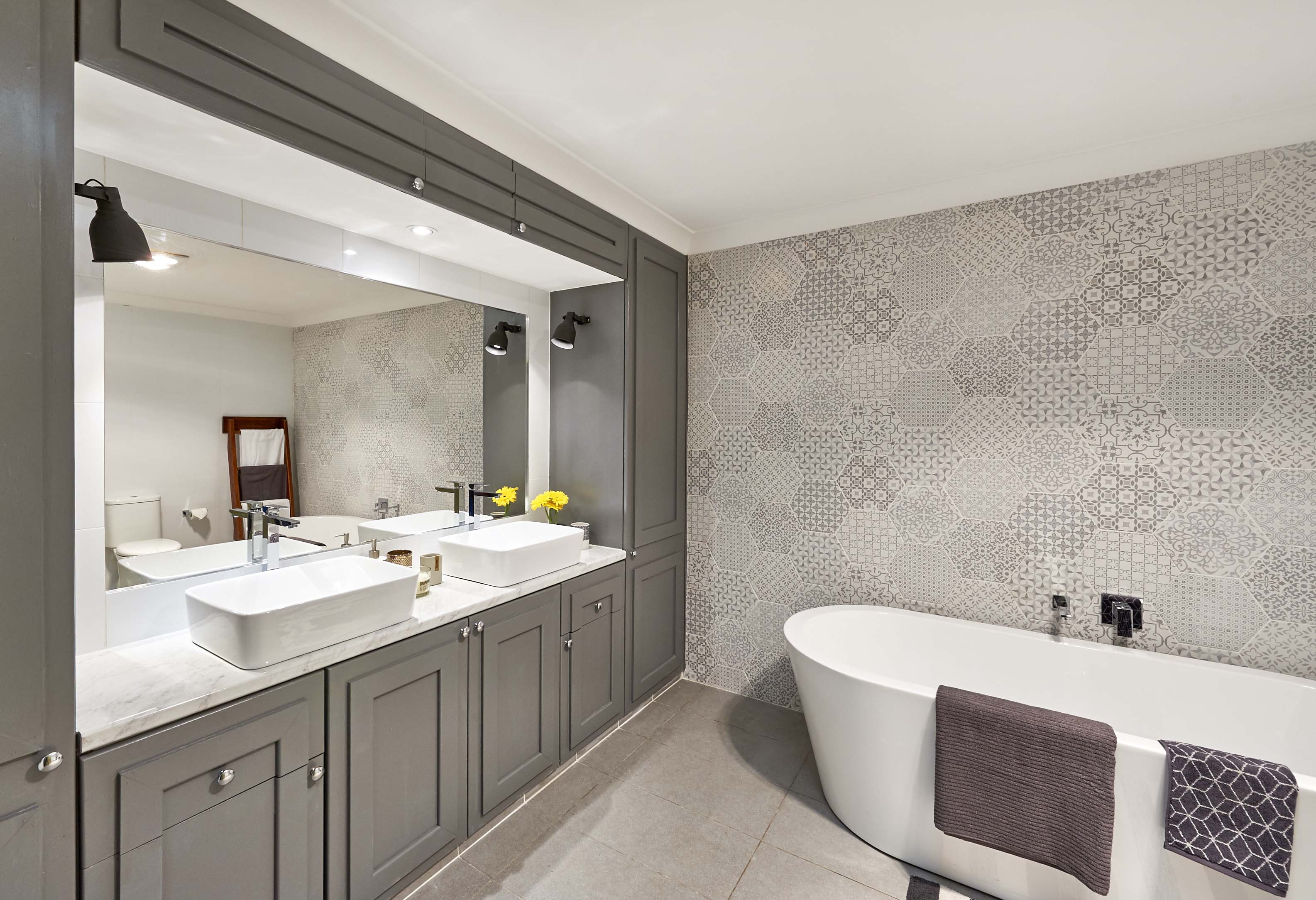 Real Homes Two Bathrooms Transformed For Just 3000 And