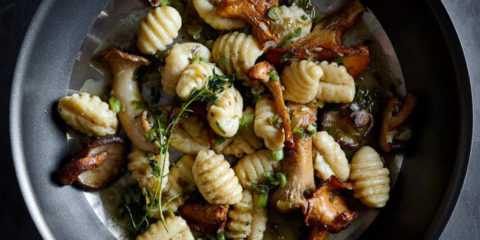 Foodie Friday: Gnocchi with Mushrooms and Thyme