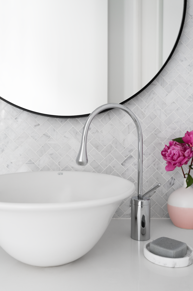 Bathroom trends what 39 s new in tapware the interiors addict for What s new in bathrooms